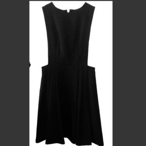 BCBGeneration Skater Dress Cutout Back